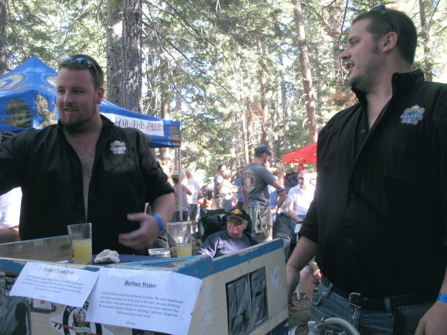 Brewbakers of Huntington Beach pouring for thirsty Northerners