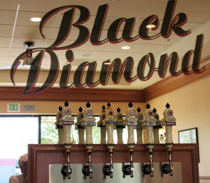 Black Diamond tap room