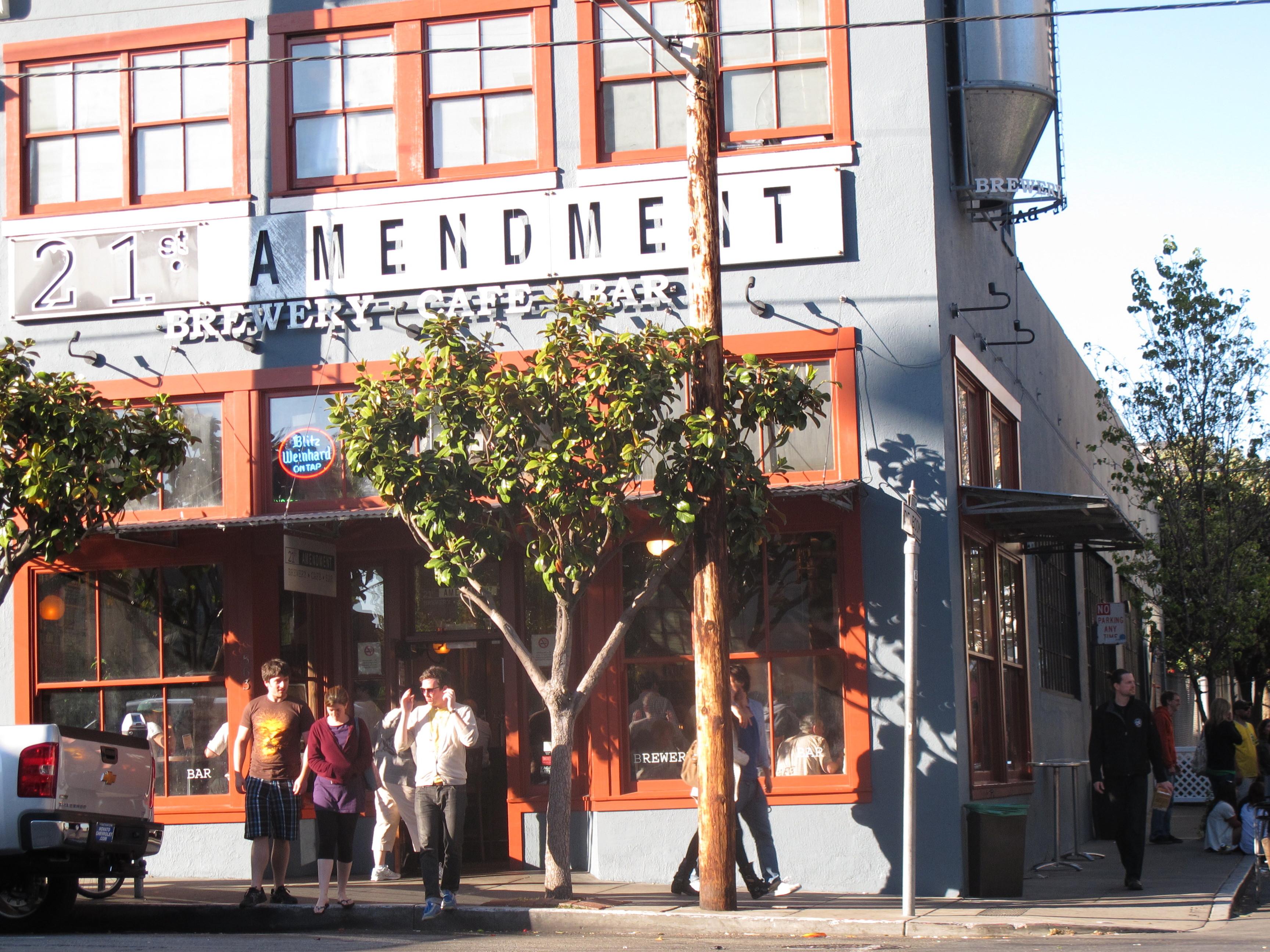 St Amendment Restaurant San Francisco
