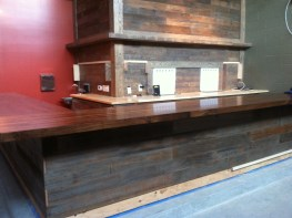 taproom build out