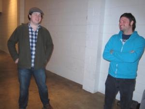 Conner Casey and Tim Sciascia