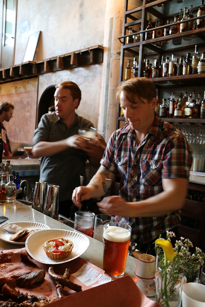 Cocktails and BBQ take their place beside the craft brews at Smokestack