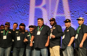 Bear Republic Crew with Pro-Am homebrewing champ Michael Kelly.