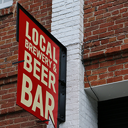 Local Brewing Co. sign