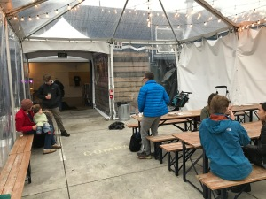 Temescal Brewing Tented Patio
