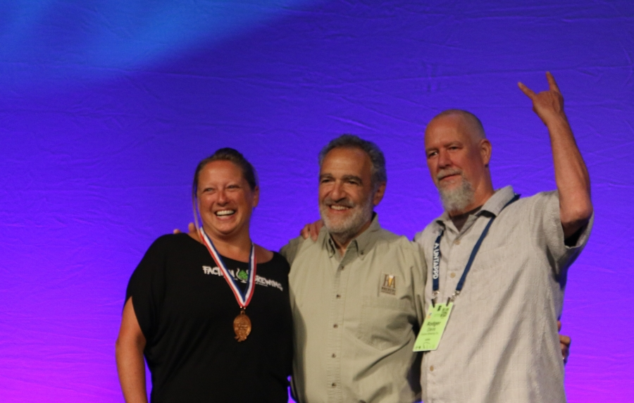 Faction Brewery 2018 GABF medal ceremony